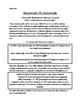 4th/5th Grade Text-Based Writing: Homework! Oh Homework! (Opinion) FSA
