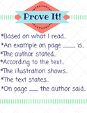4th & 5th Grade Text Evidence