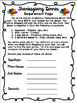 4th/5th Grade Thanksgiving Math Shopping Activity