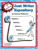 Daily Expository Writing Lessons & Activities - CCSS Aligned  {11 Weeks}