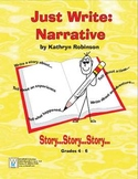 Daily Narrative Writing Lessons & Activities - Complete Curriculum {9 Weeks}