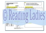 4th - 6th Grade Reading Progress Report for AIS, Corrective Reading or Classroom