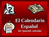 4th-7th Spanish Calendar PowerPoint