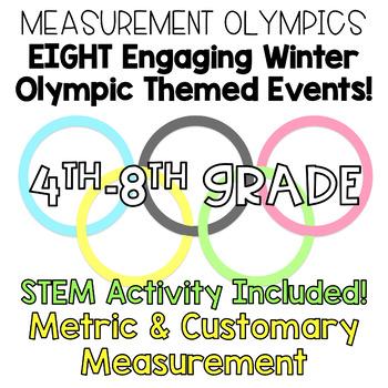 4th-8th Grade Math Winter Measurement Olympics