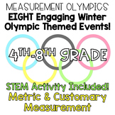 4th-8th Grade Math Winter Measurement Olympics