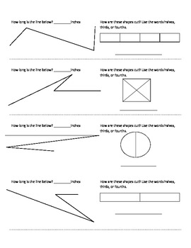 (4th 9 Weeks) 2nd Grade Math Journal Strips: common core aligned