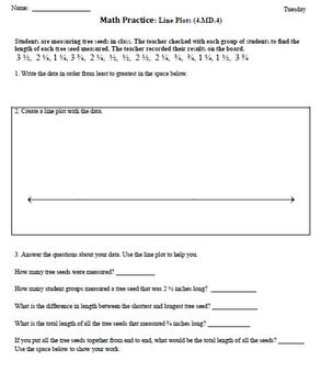 (4th 9 Weeks) 4th Grade Common Core Math Worksheets [BUNDLED]