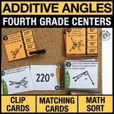 4th - Additive Angles Math Centers - Math Games
