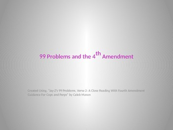 4th Amendment PPT Lesson