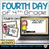 4th Day of 4th Grade