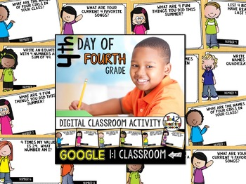 4th Day of 4th Grade: Google Classroom