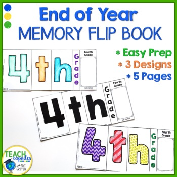 4th End of Year Memory Flip Book