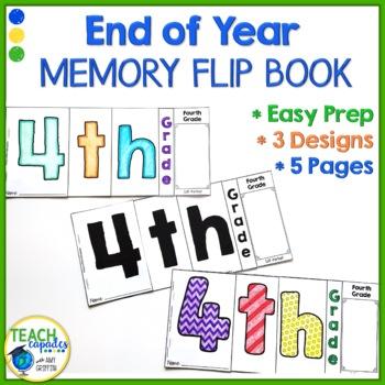 End of Year Memory Flip Book - 4th Grade