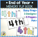 End of Year Memory Flip Book Activity 4th Grade
