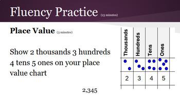 4th Grade Engage NY Math Module 1 (Bundle) PPT