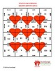 4th (Fourth) Grade Comm. Core- Valentine's Day Multiplication Puzzles
