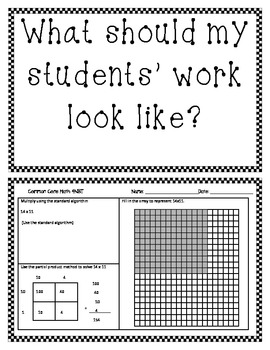 4th (Fourth) Grade Common Core Math Worksheets (Half Page Frenzies Mega Pack)