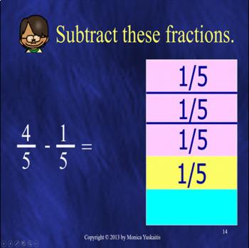 *Common Core 4th - Fractions Bundle - 10 Lessons - 425 Slides