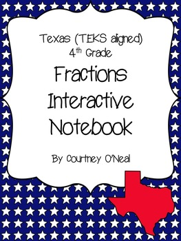 Fractions Interactive Notebook (OLD TEKS)
