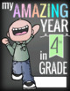 4th GRADE- End of the Year - CREATE a MEMORY BOOK - journal, color, activities