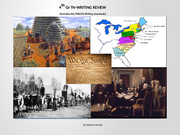 4th Gr SS TN-WRITING REVIEW (ALL) *includes: recap, prompt