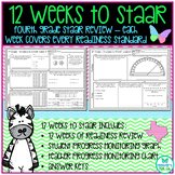 4th Grade 12 Weeks to Math STAAR