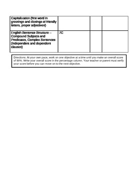 4th Grade 1st Quarter Benchmark Practice Plan- Microsoft Word Version
