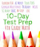 4th Grade 2019 Texas STAAR Assessment 10-day Review, no pr