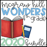 Wonders 2020 4th Grade Units 1-6 Reading Resources BUNDLE