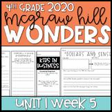 Wonders 2020 4th Grade Unit 1 Week 5 Reading Resources