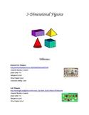 4th Grade 3-D Figures Resources