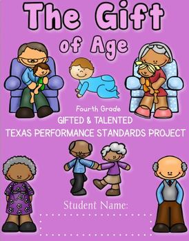 4th Grade A Gift of Age TX Standards Performance Project based Curriculum