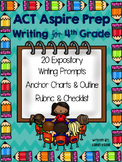 4th Grade ACT Aspire Writing Test Prep - Let's Get Writing!