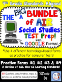 4th Grade AIR SS Test Prep BUNDLE of Google Forms (Ohio standards)