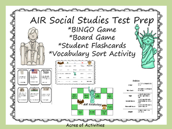 4th Grade AIR Social Studies Review Game