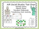 4th Grade AIR Social Studies Review Game