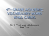 4th Grade Academic Word Wall Cards