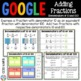 4th Grade Adding Fractions with Denominators of 10 and 100 {4.NF.5} Google