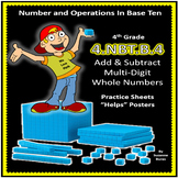 4th Grade Adding and Subtracting Multi-Digit Whole Numbers: 4.NBT.B.4