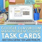 4th Grade Addition & Subtraction Word Problem Task Cards f