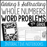 4th Grade Addition and Subtraction Word Problems (Interact