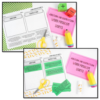 4th Grade Addition and Subtraction Word Problems {No Prep Intervention}