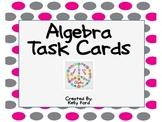 4th Grade Algebra Task Cards