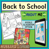 4th Grade All About Me - Back to School Activities