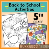 5th Grade All About Me Book - Back to School Activities -
