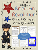 4th Grade American Revolutionary War Activity Bundle
