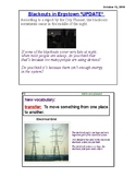 4th Grade Amplify Energy Conversions Chapter 4 (Complete) Grade 4