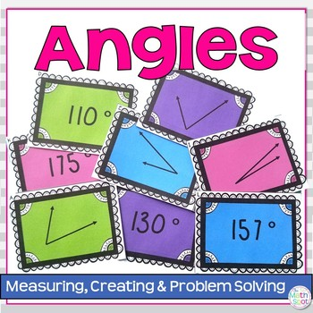 Angle and Protractor Measurement Activities