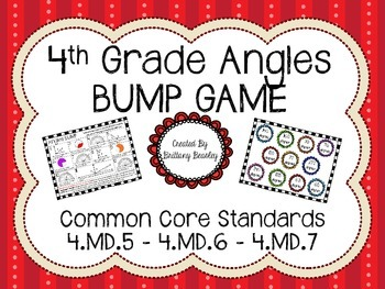 4th Grade Angles BUMP Game