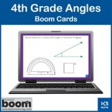 4th Grade Angles Review: Boom Cards